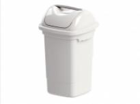 Lixeira 30 litros com Tampa Basculante Plasvale